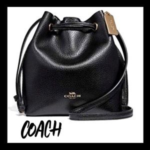 🎁NWT🎁Authentic COACH Leather Derby crossbody bag